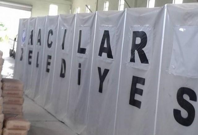 Hacılar Belediyesi Taziye Çadırı İmalatı