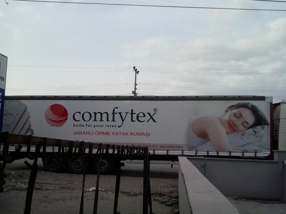 Kodu: 8761 - Comfytex Firması Tır Branda Örneği