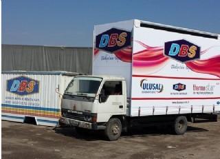 Dbs Firması Dijital Baskılı Komyonet Tentesi