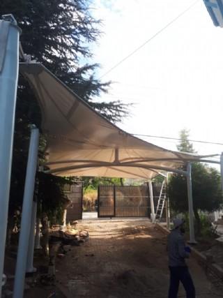 Bahçe Otopark Gölgeleme Brandası